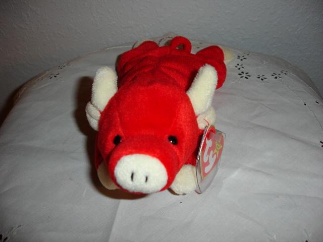 Ty Beanie Baby Bull