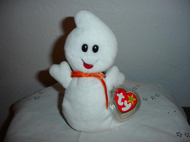 Ty Beanie Baby Halloween Ghost