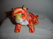 Ty Beanie Baby Tiger - Zodiac Series