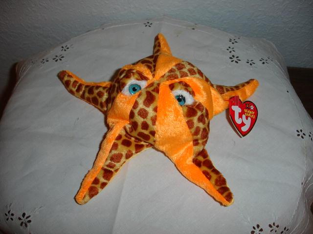 Ty Beanie Baby Starfish