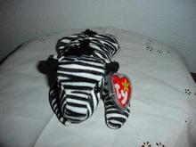 Ty Beanie Baby Zebra