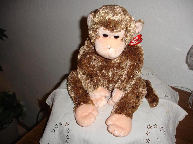 Ty Beanie Buddy Chimpanzee
