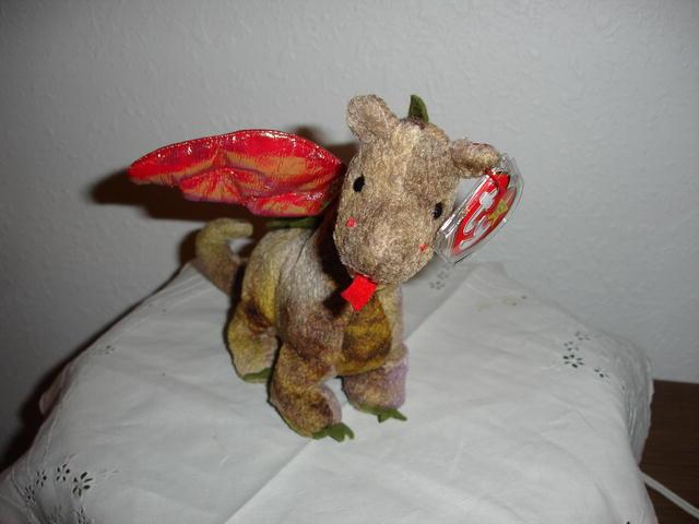Ty Beanie Baby Dragon