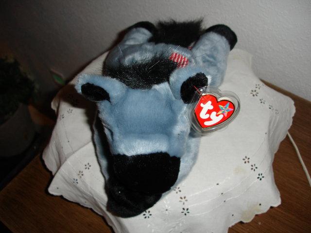TY Beanie Buddy Donkey