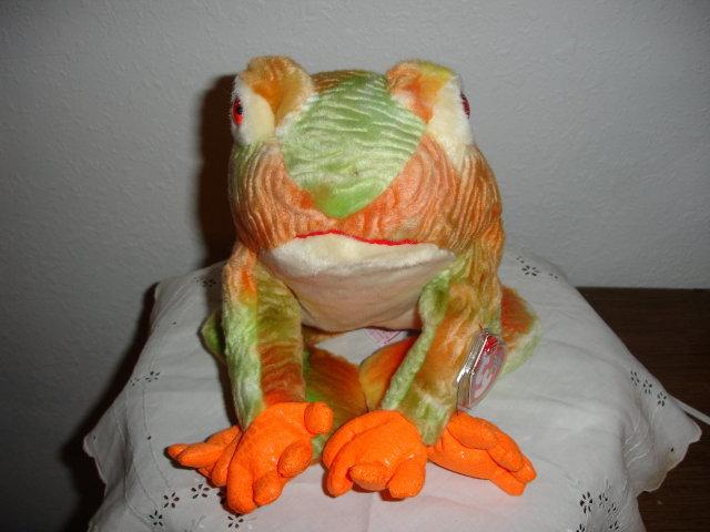 TY Beanie Buddy Frog