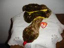 TY Beanie Buddy Snake