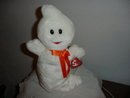 TY Beanie Buddy Halloween Ghost