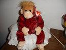TY Beanie Buddy Monkey