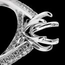 Engagement 1.05 carats diamond ring natural semi mounting new ring
