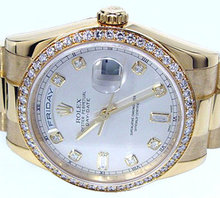 4.25 carats diamond bezel for rolex breitling luxury watches