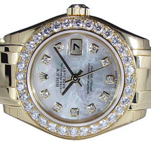 4.50 carats diamond bezel for rolex breitling luxury watches