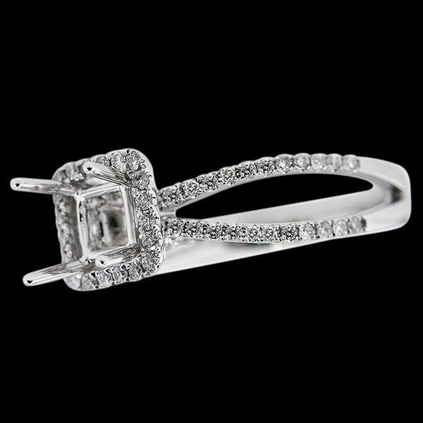 Semimount jewelry wedding anniversary ring 1 carat diamond semimounts
