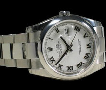 Date just mens rolex watch oyster bracelet datejust