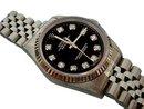 Diamond dial rolex jubilee date just watch gents