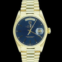 Gents rolex president Day-Date watch yellow gold