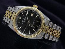 Jubilee bracelet date just rolex mens watch stick dial
