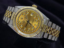Jubilee bracelet date just rolex mens watch two tone