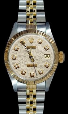 Jubilee bracelet rolex date just watch two tone rolex