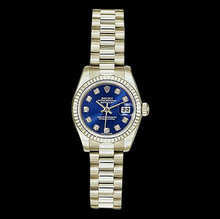 Ladies president watch ROLEX Day-Date white gold