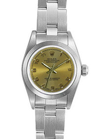 Ladies watch oyster rolex oyster perpetual arabic dial