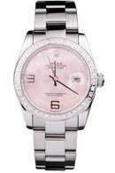Lady man rolex date just watch oyster bracelet datejust