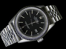 Man ROLEX date just watch stainless steel jubilee