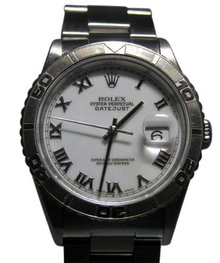 Men's datejust rolex watch rotating bezel date just