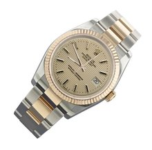 Oyster bracelet rolex date just watch man two tone
