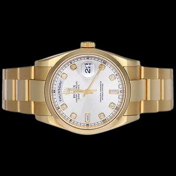 Oyster bracelet rolex men's presidential watch day date