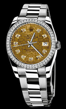 Oyster bracelet women & man datejust rolex watch