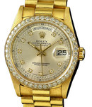 Rolex President watch 18K yellow gold Day-Date