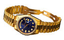 Rolex Presidents Day-Date watch yellow gold diamonds