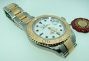 Rolex SS/18K Yacht-Master two tone watch pristine