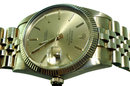 Rolex datejust gold men's watch jubilee bracelet