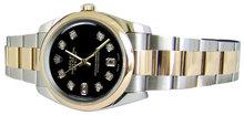 Rolex datejust oyster bracelet watch ladies date just