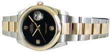 Rolex datejust oyster bracelet watch ladies date just