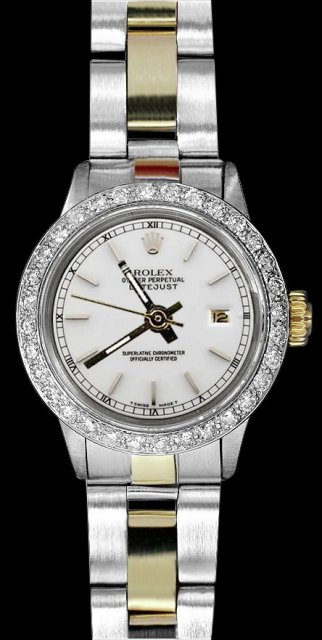 Rolex datejust watch white dial lady rolex oyster