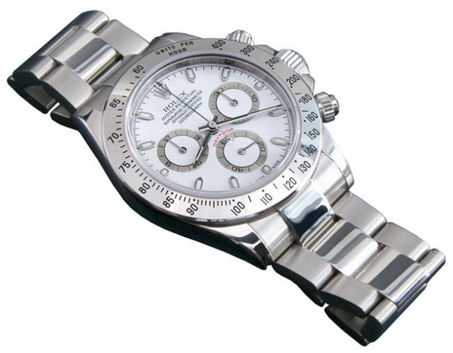 Rolex daytona STAINLESS STEEL white or black dial best