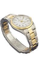 Rolex two tone datejust men's watch oyster bracelet man