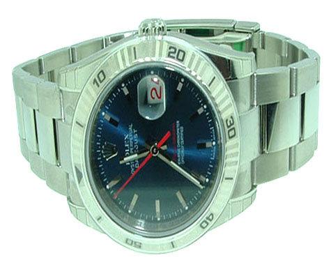 Rolex watch Mens datejust turn o graph TURN-O-GRAPH SS