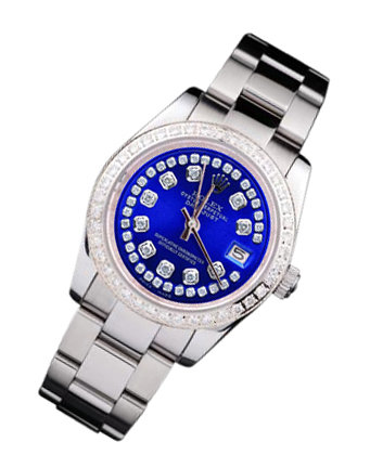 Women man rolex date just watch oyster bracelet