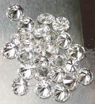 8 Pointer melee diamond parcel 1 carat F/G I1 round cut melee diamond parcel