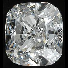 0.75 carat G SI1 sparkling loose diamond cushion cut