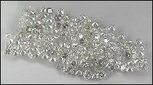 1 carat diamond parcel star melee F/G VVS round cut 3/4 pointer diamond parcel