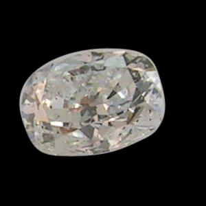 Cushion cut loose diamond 0.75 carats H SI1
