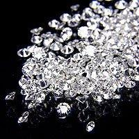 1 - 1.25 Pointer star melee diamond parcel 1 carat G/H I1 round cut diamond