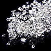 1 - 1.25 Pointer star melee diamond parcel 1 carat G/H I1 round cut diamond