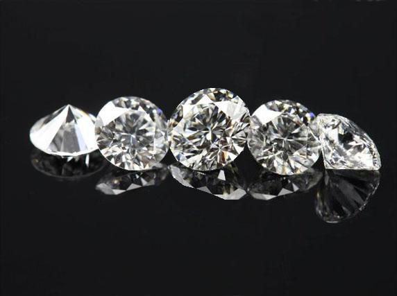5 ct. Loose round diamond parcel 0.50 ct. D-G VS2/SI1