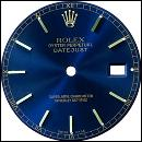 Black stick dial for gents rolex datejust dial man