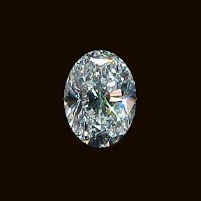 E VVS1 Diamond 1.01 carat loose diamond oval cut new
